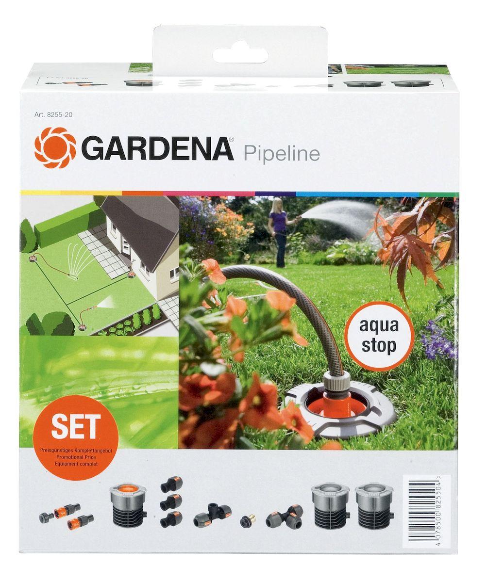 Базовый комплект садового водопровода Gardena08255-20.000.00Базовый комплект садового водопровода Gardena содержит важные компоненты для удобного забора воды. В базовый комплект входят принадлежности для двух точек забора воды, и его возможности можно бесконечно увеличивать. Вода из крана проходит через входную колонку и поступает в магистральный шланг. На выходе из магистрального шланга вода поступает в водозаборную колонку, установленную стационарно. Входная и водозаборная колонки защищены крышкой, которая защищает их от попадания посторонних предметов, когда колонки не используются. При открытии выдвижная крышка сферической формы скрывается внутри колонок, обеспечивая возможность ухаживать за газоном, не встречая при этом никаких препятствий. Автоматический дренажный клапан, встроенный в шланг, обеспечивает слив воды из системы в преддверии морозной погоды. В комплекте: - комплект соединительный Профи Maxi-Flow; - входная колонка; - водозаборная колонка - 2 шт; - соединитель Т-образный; - коннектор 25 мм с внутренней резьбой 3/4 дюйма (3 шт.); - соединитель Т-образный 25 мм с внутренней резьбой 3/4 дюйма; - дренажный клапан. Для установки комплекта дополнительно потребуются: шланг магистральный 25 мм и садовый шланг 19 мм (3/4 дюйма) соответствующей длины.