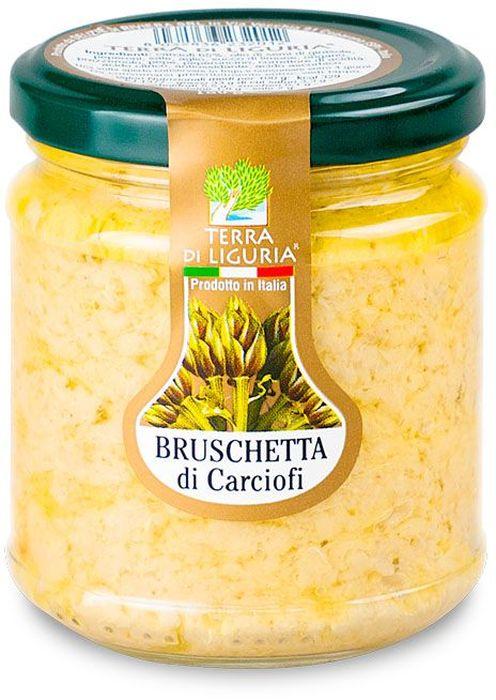 Terra di Liguria паштет из артишоков брускетта, 180 г0120710Паштет (паста) из артишоков Terra Di Liguria применяется как самостоятельная закуска с хрустящим итальянским хлебом, а также в составе различных заправок для салатов и паст. Часто применяют в составе кремов для холодных закусок.Уважаемые клиенты! Обращаем ваше внимание, что полный перечень состава продукта представлен на дополнительном изображении.
