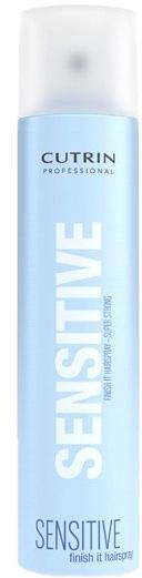 Cutrin Лак экстра-сильной фиксации без отдушки Fragrance Free Finish It Hair Spray Super Strong, 300 мл12686Обеспечивает максимальный уровень фиксации укладки. Быстро высыхает, легко удаляется при расчесывании. Содержит ингредиенты, защищающие волосы от негативных внешних воздействий, в том числе повышенной влажности. За счет отсутствия отдушки не оказывает раздражающего воздействия на органы дыхания.