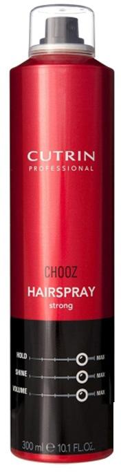 Cutrin Лак ультра-сильной моментальной фиксации Hair Spray Quick-Dry Control, 300 мл4866/8032679468142Идеальное средство для быстрой фиксации прически, подходит как для подиумных, так и для салонных укладок. Мгновенно высыхает, легко удаляется при расчесывании. Придает волосам великолепный блеск и сияние, обеспечивая ультра-сильную фиксацию. Входящие в состав формулы пантенол и протеин шелка оказывают на волосы ухаживающий эффект.