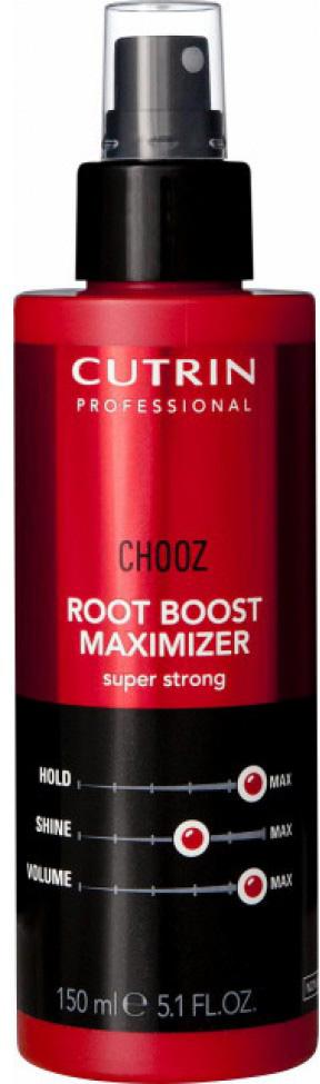 Cutrin Спрей для прикорневого объема экстра сильной фиксации Root Boost Maximizer Super Strong, 150 млMP59.4DОбеспечивает сильную и продолжительную фиксацию прикорневого объема. Особенно эффективен при укладке тонких волос. Защищает волосы и прическу от негативных факторов внешней среды, в том числе от высоких температур при укладке феном и от повышенной влажности.