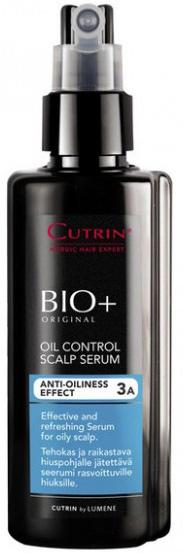 Cutrin Регулирующий лосьон для жирной кожи головы Oil Control Scalp Serum, 150 млMP59.4DОчищает кожу головы от излишков себума. Благодаря комплексу активных ингредиентов регулирует работу сальных желез, восстанавливая оптимальный гидролипидный баланс кожи головы и создавая ощущение свежести.