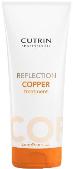 Cutrin Тонирующая маска для поддержания цвета волос Reflection Cooper Treatment, искрящийся медный, 200 млSatin Hair 7 BR730MNОттеночная маска - лучший способ сохранить и усилить цвет окрашенных волос в период между посещениями салона. Большое количество красящих пигментов позволит поддерживать насыщенный цвет и блеск окрашенных волос в течение максимально долгого периода времени.