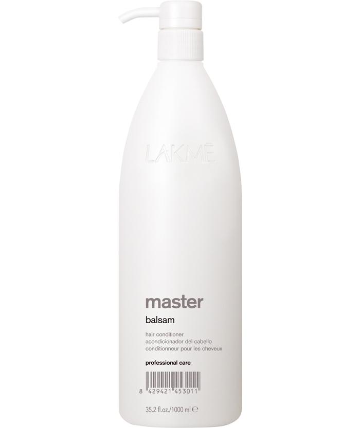 Lakme Бальзам кондиционер для волос Balsam Conditioner, 1000 млA8746800Бальзам кондиционер для волос Lakme Master Balsam Conditioner. Комплекс кератина и гидролизованных шелковых аминокислот, входящий в состав бальзама, восстанавливает структуру волоса. Экстракты водорослей эффективно действуют на самые сухие участки волоса. Кислотное число (ph) оказывает нейтрализующее воздействие на остатки обесцвечивающего порошка и химической завивки, выпрямления. Обеспечивает волосам мягкость, облегчает расчесывание, восстанавливает блеск и увлажняет волосы.