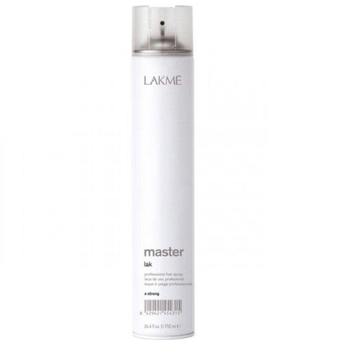 Lakme Лак для волос экстра сильной фиксации Lak X-Strong, 750 млMP59.4DЛак для волос экстра сильной фиксации Lakme Master Lak X - Strong - профессиональный лак для создания причесок из длинных волос, вечерних причесок и акцентирования прядей. Обеспечивает сильную фиксацию, не склеивая волосы. Предохраняет волосы от воздействия влаги и внешних агрессивных факторов. Легко удаляется при расчесывании. Не оставляет налета. Экономичен в использовании.