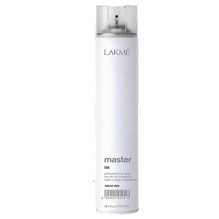 Lakme Лак для волос нормальной фиксации Lak Natural Style, 750 млMP59.4DЛак для волос нормальной фиксации Lakme Master Lak Natural Style - профессиональный лак для волос нормальной фиксации, придающий волосам блеск и мягкость. Идеален для завершения укладки. Легко удаляется при расчесывании. Предохраняет волосы от воздействия влаги и внешних агрессивных факторов. Не оставляет налета. Экономичен в использовании.