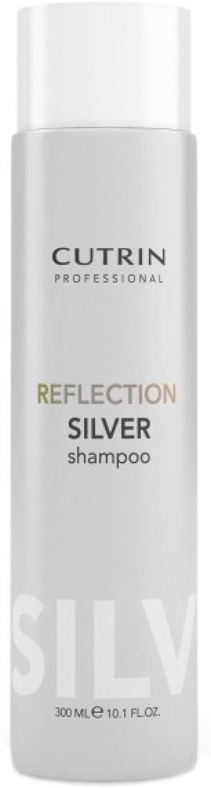 Cutrin Оттеночный шампунь серебристый иней Reflection Silver Shampoo, 300 млMP59.4DОттеночный шампунь - лучший способ сохранить и усилить цвет окрашенных волос в период между посещениями салона. Большое количество красящих пигментов позволит поддерживать насыщенный цвет и блеск окрашенных волос в течение максимально долгого периода времени.