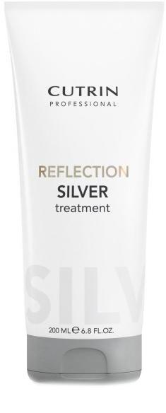 Cutrin Тонирующая маска для поддержания цвета светлых, осветленных или седых волос Reflection Silver Treatment, серебристый иней, 200 млFS-00897Оттеночная маска - лучший способ сохранить и усилить цвет окрашенных волос в период между посещениями салона. Большое количество красящих пигментов позволит поддерживать насыщенный цвет и блеск окрашенных волос в течение максимально долгого периода времени.