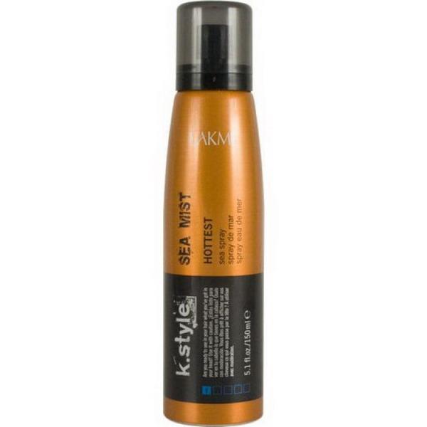 Lakme Спрей для волос Sea Mist Sea Spray, 150 млFS-00897Спрей для волос Lakme K Style Sea Mist Создает текстуру на длинных сухих волосах. Придает волосам матовый эффект. Идеально подходит для тонких волос. Содержит УФ - фильтр. Свежий морской аромат с оттенком бергамота. Степень фиксации - 1