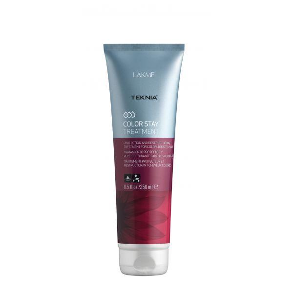 Lakme Средство, сохраняющее цвет и восстанавливающее структуру окрашенных волос Treatment, 250 млMP59.4DВосстанавливает цвет окрашенных волос. Реструктурирует волосы, поврежденные в процессе осветления или окрашивания.Средство, сохраняющее цвет и восстанавливающее структуру окрашенных волос Lakme Teknia Color Stay Treatment содержит WAA™ – комплекс растительных аминокислот, ухаживающий за волосами и оказывающий глубокое воздействие изнутри. Выравнивает структуру окрашенных и осветленных волос, проявляет цвет.