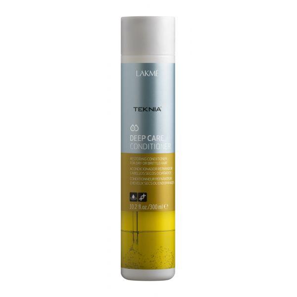 Lakme Кондиционер восстанавливающий для сухих или поврежденных волос Conditioner, 300 млMP59.4DКондиционер восстанавливающий для сухих или поврежденных волос Lakme Teknia Deep Care Conditioner cодержит WAA™ – комплекс растительных аминокислот, ухаживающий за волосами и оказывающий глубокое воздействие изнутри. Катионный кондиционирующий комплекс распутывает и делает волосы мягкими и блестящими. Мягко действующая формула восстанавливает натуральные свойства волос.