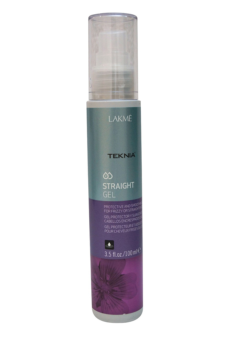 Lakme Гель для придания гладкости непослушным или химически выпрямленным волосам Gel, 100 млMP59.4DВосстанавливает структуру волос. Увлажняет волосы и возвращает им мягкость и шелковистость. Облегчает выпрямление волос во время сушки. Катионная смола увлажняет и защищает волосы от теплового воздействия. Волосы остаются прямыми длительное время. Гель для придания гладкости непослушным или химически выпрямленным Lakme Teknia Straight Gel содержит WAA™ – комплекс растительных аминокислот, ухаживающий за волосами и оказывающий глубокое воздействие изнутри.