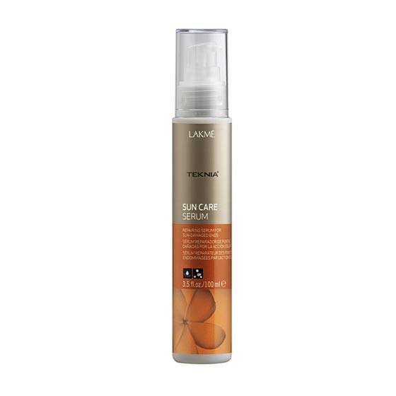 Lakme Сыворотка для восстановления поврежденных солнцем кончиков волос Serum, 100 млMP59.4DВосстанавливает и разглаживает кончики волос, поврежденные агрессивным действием солнца. Благодаря маслу монои таитянской и витамину Е поврежденные кончики волос становятся блестящими и шелковистыми. Интенсивное воздействие.Сыворотка восстанавливающая для поврежденных солнцем кончиков волос Lakme Teknia Sun Care Serum содержит WAA™ – комплекс растительных аминокислот, ухаживающий за волосами и оказывающий глубокое воздействие изнутри.