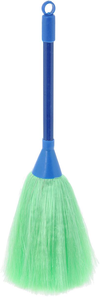 Щетка для смахивания пыли Burstenmann, цвет: синий, зеленый, 27 см0525/0000Щетка Burstenmann предназначена для смахивания пыли с различных поверхностей. Ручка выполнена из прочного пластика, а рабочая часть из синтетического материала. Для дополнительного удобства щетка снабжена специальной петелькой, с помощью которой ее можно разместить в любом месте.Общая длина щетки: 28 см.Длина рабочей поверхности: 11 см.