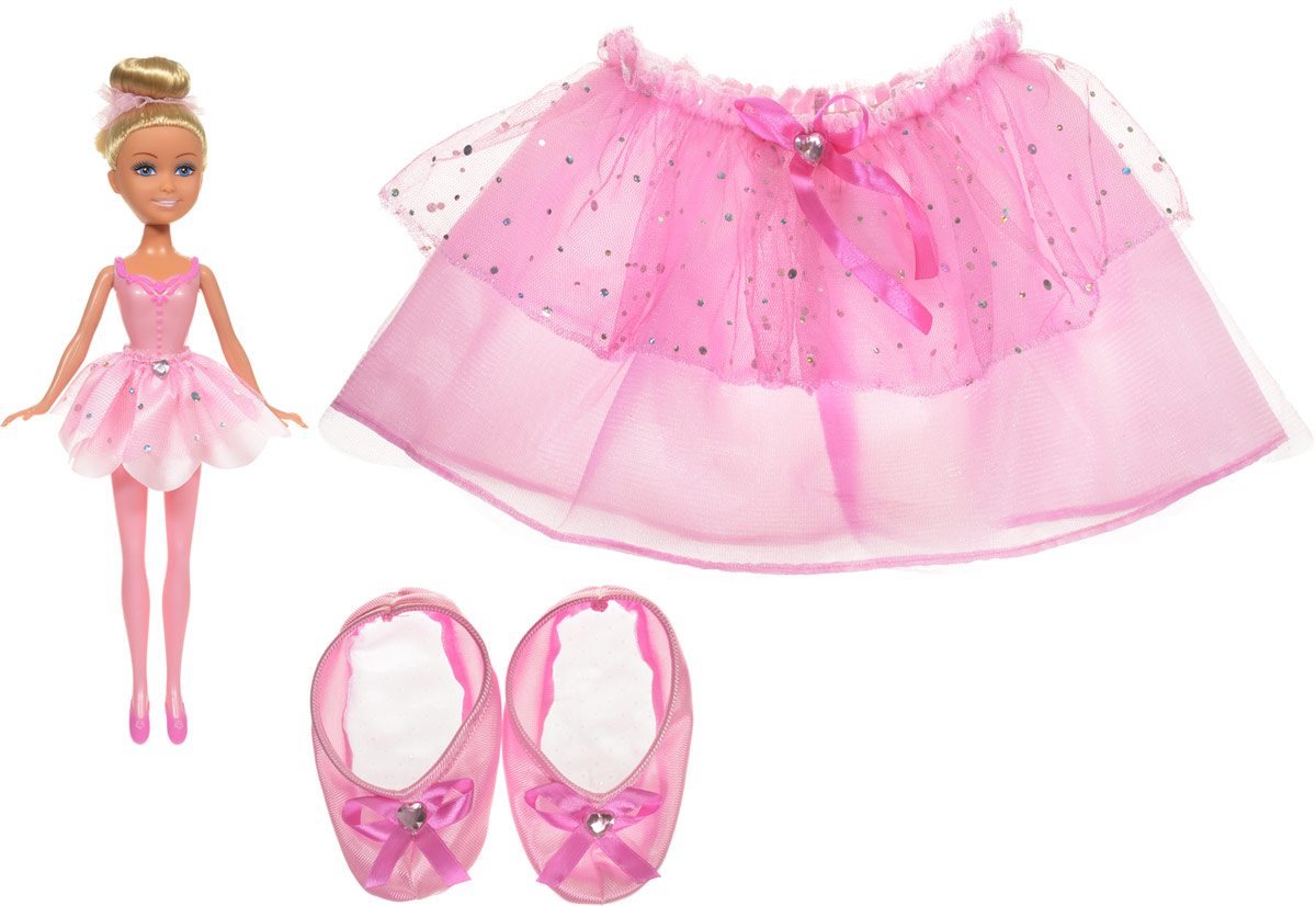 ABtoys Кукла Балерина с карнавальным костюмом для девочки abtoys кукла балерина бэлла
