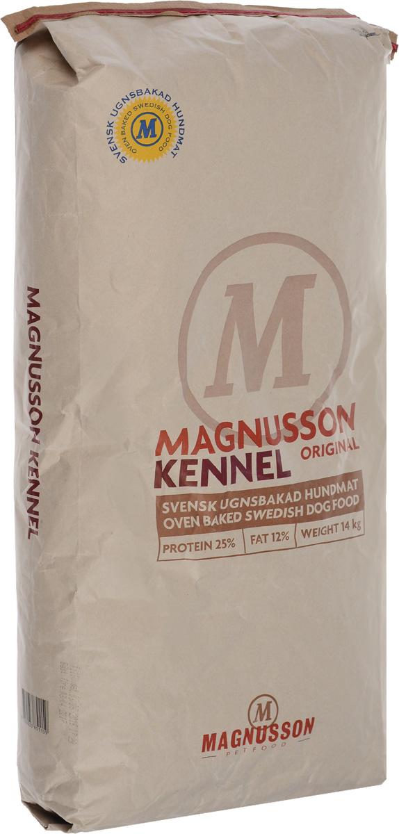 Корм сухой Magnusson Kennel для взрослых собак с нормальным уровнем активности, 14 кг61397_24Корм Magnusson Kennel производится из сушеного мяса с добавлением пивных дрожжей. Пивные дрожжи, входящие в состав корма, являются источником антиоксидантов, аминокислот и почти полной группы витаминов В. Обе добавки способствуют улучшению состояния кожи и шерсти вашего питомца, а так же нормализуют работу ЦНС и помогают быстрее восстановить силы после тренировки или прогулки. Вяляние (медленная сушка) мяса – самый естественный способ сохранить его до процесса запекания, не используя консервант и глубокую заморозку, чтобы сохранить качество белка на самом высоком уровне.Корм можно давать как в сухом, так и в размоченном виде. Не стоит заливать корм бульоном или молоком, лучше всего использовать воду. Определите количество корма, которое вы хотите дать вашей собаке. Добавьте в миску теплую воду так, чтобы она покрывала корм. Перемешайте и оставьте на 10 минут.Не забывайте, что ваша собака всегда должна иметь свободный доступ к чистой питьевой воде. Количество корма варьируется в зависимости от породы, темперамента, физической нагрузки, климата и других факторов.Товар сертифицирован.