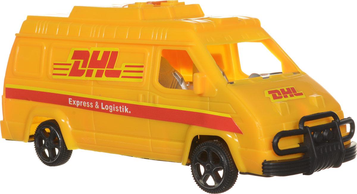 Junfa Toys Машинка инерционная DHL