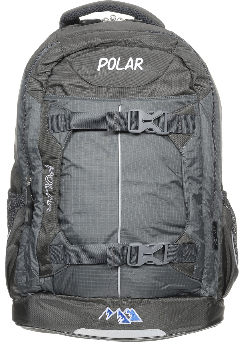 Рюкзак детский городской Polar, 24 л, цвет: серый. П222-06MHDR2G/AРюкзак фирмы Polar изготовлен из ткани с водоотталкивающей пропиткой. Жесткая спинка рюкзака имеет специальные вставки для лучшего воздухообмена. Новая конструкция лямок позволяет регулировать их не только по длине, но и согласно Вашему росту. Специальное крепление в верхней части каждой лямки поможет отрегулировать их так, что рюкзак сможет носить как взрослый, так и ребенок, не создавая дискомфорта для спины. Жесткое дно делает рюкзак устойчивым и дополняет удобством при ношении.