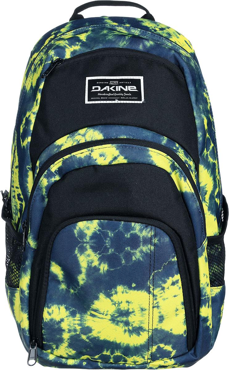 Рюкзак Dakine DK CAMPUS 25L FLOYD. 08130056RivaCase 8460 blackГородской рюкзак с отделением для ноутбука ( до 14). Карман-органайзер, карман-термос, карман-сетка снаружи. Карман для очков из мягкого флиса.