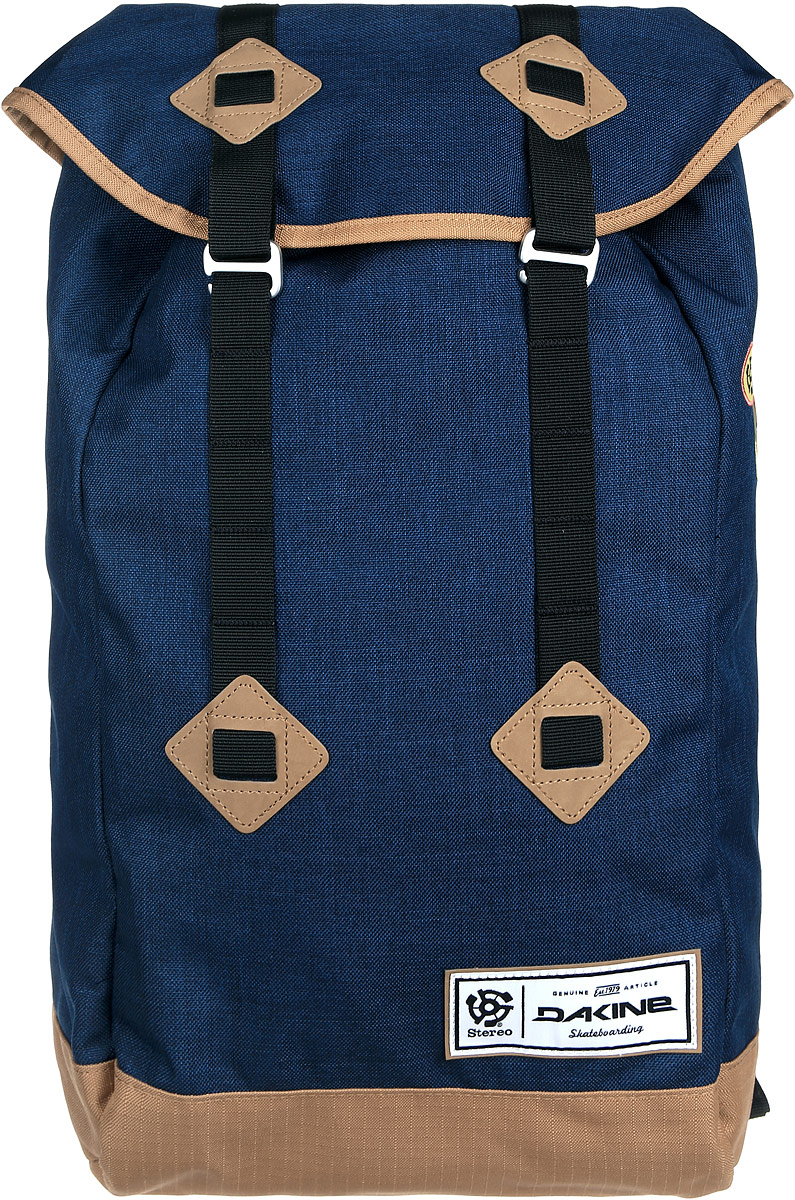 Рюкзак Dakine DK TREK 26L STEREO COLLAB. 8130083RU-512-11/4Городской рюкзак. С отделением для ноутбука (до 17) Внутри карман-сетка.