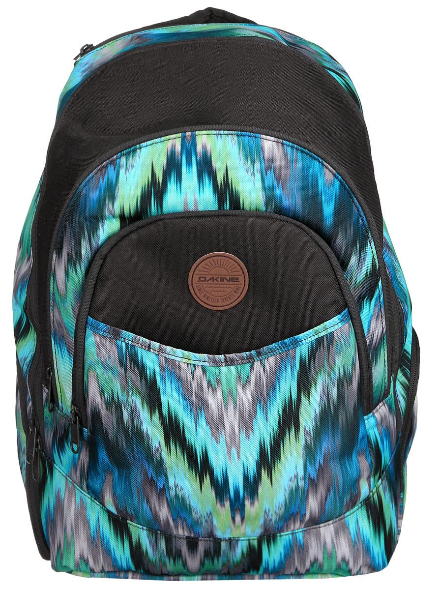Рюкзак женский Dakine DK PROM 25L ADONA. 0821002532389003Городской женский рюкзак с отделением для ноутбука ( до 14) Карман для очков из мягкого флиса, карман-органайзер, карман-термос, боковой карман для бутылки с водой.