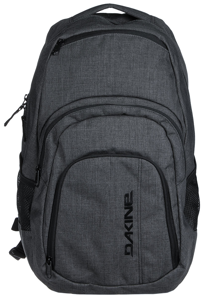 Рюкзак Dakine W16 DK CAMPUS 33L CARBON. 8130057Z90 blackГородской рюкзак с отделением для ноутбука ( до 15). Карман-органайзер, карман-термос, карман-сетка снаружи. Карман для очков из мягкого флиса.