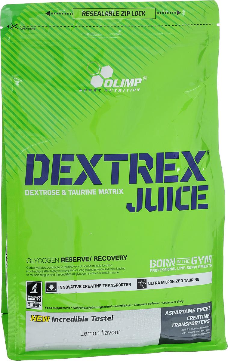 Углеводный энергетик Olimp  Dextrex Juice , лимон, 1 кг - Энергетики