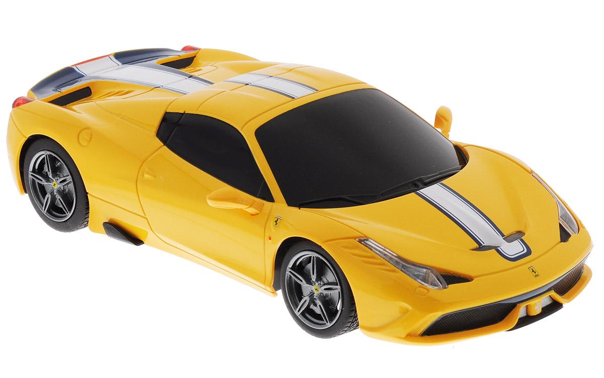 Rastar Радиоуправляемая модель Ferrari 458 Speciale A цвет желтый