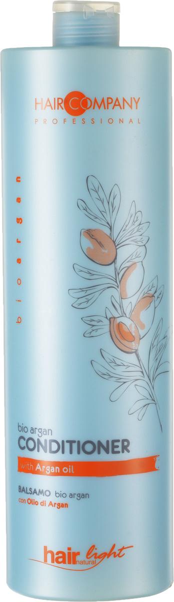 Hair Company Бальзам для волос с био маслом Арганы Professional Light Bio Argan Conditioner 1000 млLE0985600Продукция линии bioargan разработана для борьбы с ломкостью и обезвоживанием повреждённых и окрашенных волос.Ценные свойства масла Арганы увлажняют волосы и продлевают их цвет, который становится более насыщенным, живым и стойким. Это ценнейшее масло изготавливают из плодов Аргании (Argania spinosa ), которая произрастает только на Юге Марокко и на протяжении тысячелетий используется в качестве Эликсира красоты. Масло богато ненасыщенными кислотами и витамином Е, что делает его драгоценным элементом для увлажнения, питания и защиты волос. Защита и увлажнение повреждённых и окрашенных волос волосы здоровые цвета более насыщенные.