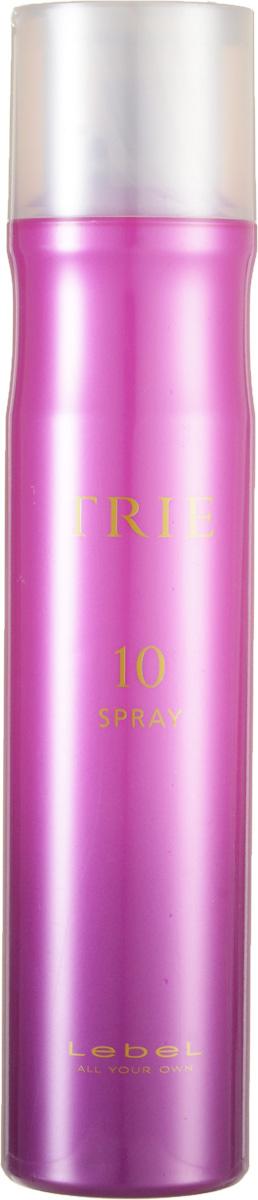 Lebel Trie Спрей для укладки очень сильной фиксации Fix Spray 10 170 гFS-00897Спрей для укладки Lebel Trie:Спрей для моментальной сильной фиксации (финиш-этап). Придаёт укладке законченный вид и сохраняет её на протяжении длительного времени. Защищает волосы от термического воздействия и негативных факторов окружающей среды, нейтрализует свободные радикалы. Препятствует впитыванию посторонних запахов. Новый аромат La France (груша). SPF 15.