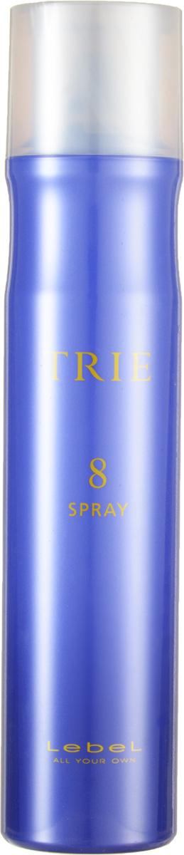 Lebel Trie Спрей для укладки сильной фиксации Fix Spray 8 170 гFS-00897Спрей для укладки сильной фиксации Lebel Trie:Спрей для эластичной, подвижной фиксации. Придаёт укладке законченный вид, сохраняя гибкость и подвижность волос. Для повседневных укладок и частого применения. Защищает от агрессивного воздействия окружающей среды. Препятствует впитыванию посторонних запахов. Новый аромат La France (груша).SPF 15.
