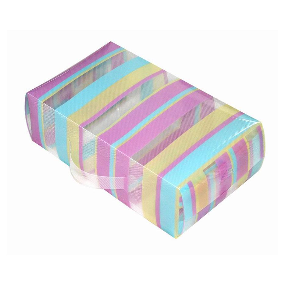 Короб для xранения обуви Miolla, 30 x 18 x 10 смCLP446Удобный пластиковый короб для хранения обуви Miolla станет идеальным решением для организации пространства вашего гардероба. Можно больше не переживать за сохранность дорогих туфель или изысканных босоножек, короб Miolla позволит отделить одну пару от другой и в отличие от картонных аналогов не потеряет форму, угрожая испортить любимую обувь.Размер короба: 30 х 18 х 10 см.