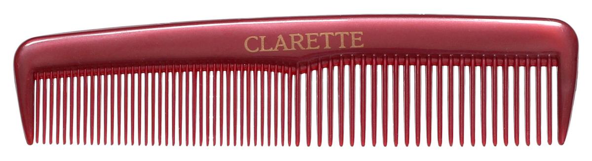 Clarette Расческа для волос карманная, цвет: бордовыйMP59.4DКоллекция Clarette Перламутр- это расчески, щетки и термо-брашинги для ухода за волосами. Коллекция изготовлена из перламутрового пластика в яркой цветовой гамме. Маленький размер расчески не заменим в дороге