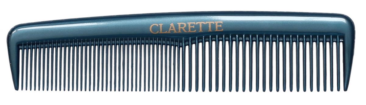 Clarette Расческа для волос карманная, цвет: синийFS-00897Коллекция Clarette Перламутр- это расчески, щетки и термо-брашинги для ухода за волосами. Коллекция изготовлена из перламутрового пластика в яркой цветовой гамме. Маленький размер расчески не заменим в дороге