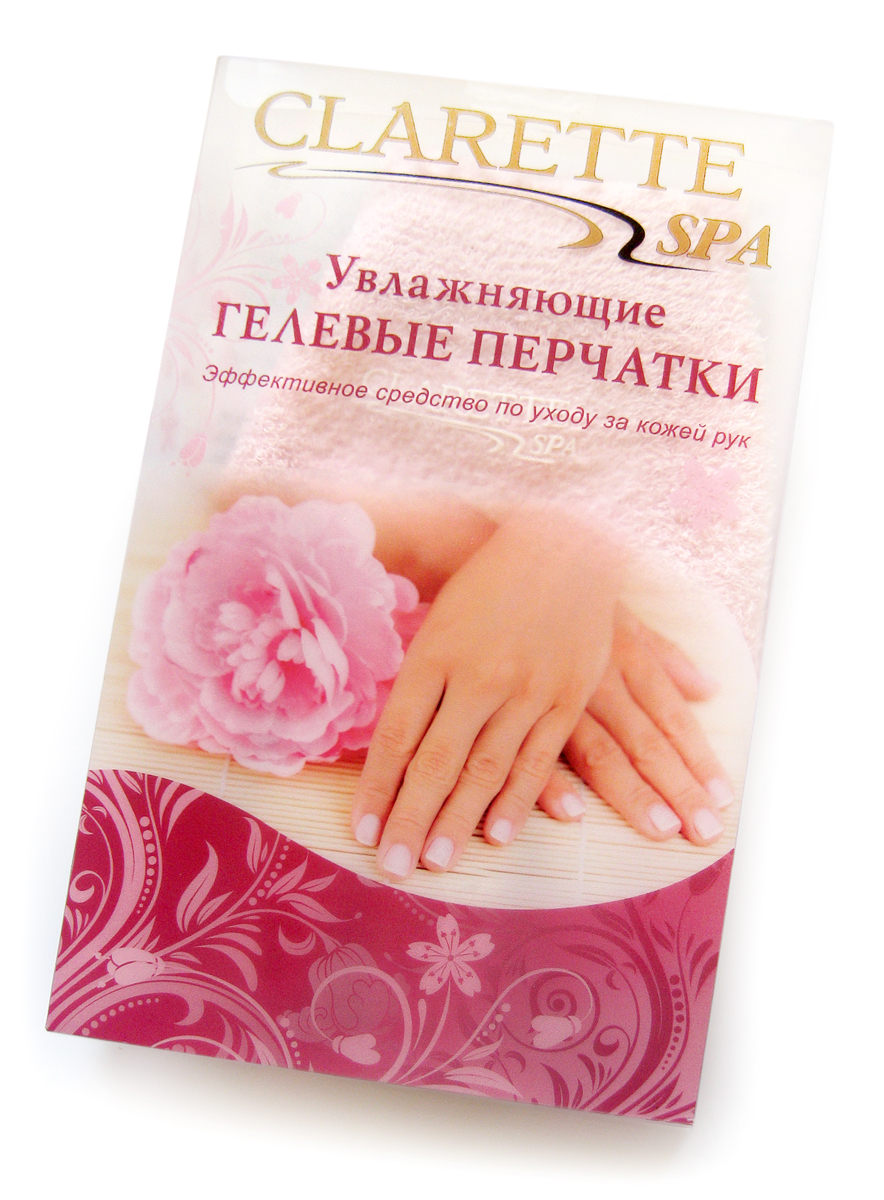 Clarette Увлажняющие гелевые перчатки,розовыеAS-501/RУвлажняющие гелевые перчатки Clarette позволяют профессионально ухаживать за кожей рук в домашних условиях. Если кожа ваших рук стала шелушиться от пребывания на ветру, морозе или солнце, увлажняющие перчатки Clarette помогут быстро избавиться от подобных неприятных ощущений. Увлажняющие гелевые перчатки Clarette – это многоразовые изделия, выдерживают до 50 применений, сохраняя лечебные свойства и увлажняющий эффект.
