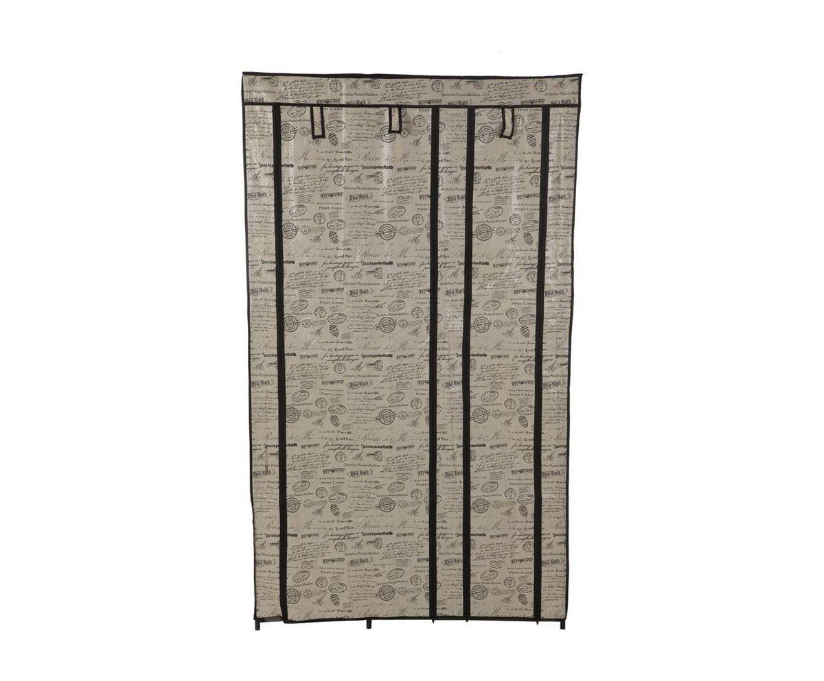 Гардероб для хранения одежды HomeMaster, цвет: серый, 100 x 46 x 174 см. W333BW333BСкладной гардероб из ткани HomeMaster - это гениальное и практичное изобретение. Он поможет при переезде или в те моменты, когда к вам приезжают гости, или просто скопилось много одежды, например при смене сезонов. Гардероб имеет несколько секций с полками и вешалкой для одежды, легко складывается и очень компактно хранится, а вес составляет всего несколько килограмм. Замки-молнии на корпусе обеспечат независимый доступ к любой из секций. Его современный и стильный дизайн оформленный фото коллажем впишется в любой интерьер. Внимание! Нестандартная сборка. Верхняя часть шкафа собирается при одетом тканевом покрытии. При сборке используйте инструкцию. Все компоненты должны быть максимально сильно зафиксированы. Тканевое покрытие сшито максимально точно по размерам шкафа.