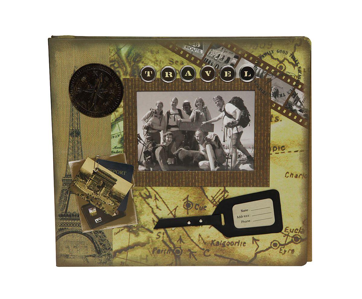 Фотоальбом HomeMaster Путешествие, магнитный, 20 листов, 33 х 32 х 4RG-D31SОригинальный фотоальбом HomeMaster Путешествие в стиле Scrapbook. Имеет 20 магнитных листов под разноформатные фото. На лицевой стороне альбома также можно разместить одну фотографию. Упакован в подарочную коробку с прозрачной крышкой. Объемный декор, ручная работа.