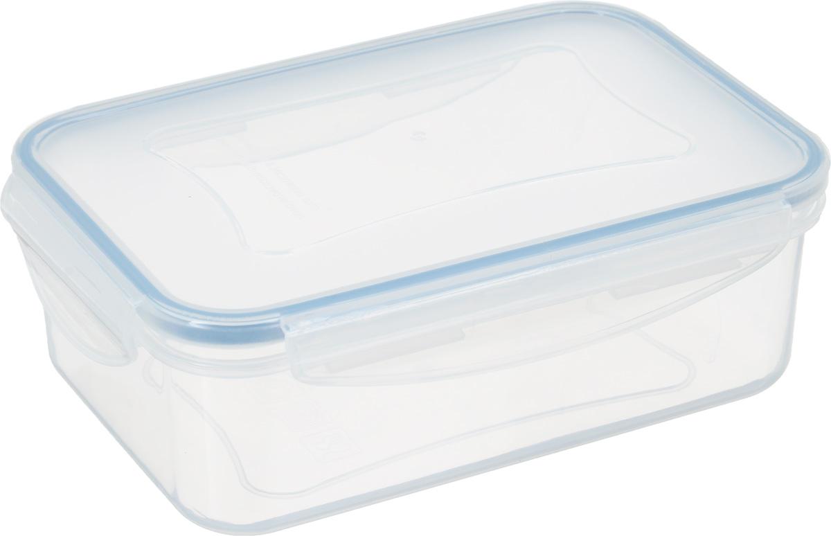 Контейнер для хранения продуктов Tescoma Freshbox, 1лАксион Т-33Контейнер Tescoma Freshbox подходит для переноски и хранения любых продуктов питания. Изделие абсолютно герметично, способно выдержать сильные перепады температур. Пластик и силиконовая вставка переносят экстремальные температурные режимы в диапазоне от -18°C до +110°C. Такой контейнер оптимально сохранит вкус, аромат и внешний вид продуктов.Подходит для холодильника, морозильной камеры, микроволновой печи и посудомоечной машины.Размер контейнера (с учетом крышки): 19 х 13 х 6,5 см.Объем контейнера: 1 л.