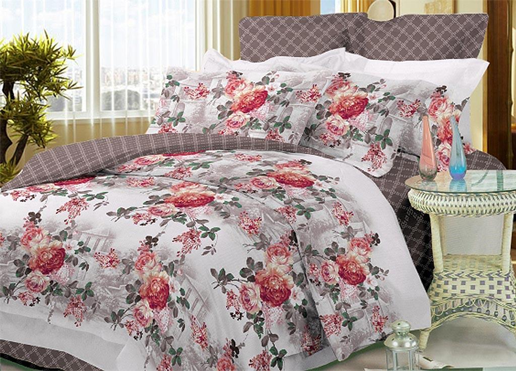 Комплект белья Primavera Classic Розы, 1,5-спальный, наволочки 70x70391602Комплект постельного белья Primavera Classic Розы является экологически безопасным для всей семьи, так как выполнен из высококачественного сатина (100% хлопка). Комплект состоит из пододеяльника на молнии, простыни и двух наволочек. Постельное белье оформлено ярким рисунком цветов и имеет изысканный внешний вид. Сатин - производится из высших сортов хлопка, а своим блеском и легкостью напоминает шелк. Постельное белье из сатина превращает жаркие летние ночи в прохладные и освежающие, а холодные зимние - в теплые и согревающие. Приобретая комплект постельного белья Primavera Classic Розы, вы можете быть уверенны в том, что покупка доставит вам и вашим близким удовольствие и подарит максимальный комфорт.
