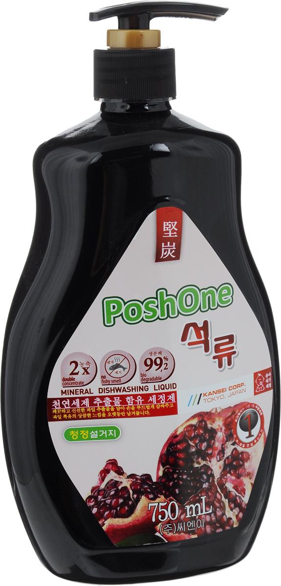 Средство для мытья посуды и детских принадлежностей Posh One, с экстрактом граната, 750 мл46 00104 02840 3Средство Posh One, выполненное на основе природных минералов и экстракта граната, предназначено для мытья посуды и детских принадлежностей. Не сушит руки (содержит косметический глицерин), эффективно устраняет неприятные запахи.Средство содержит микроэлементы: Ca, Mg, K, Na, P; а также органические кислоты, минеральные кислоты, комплекс антиоксидантов.Товар сертифицирован.