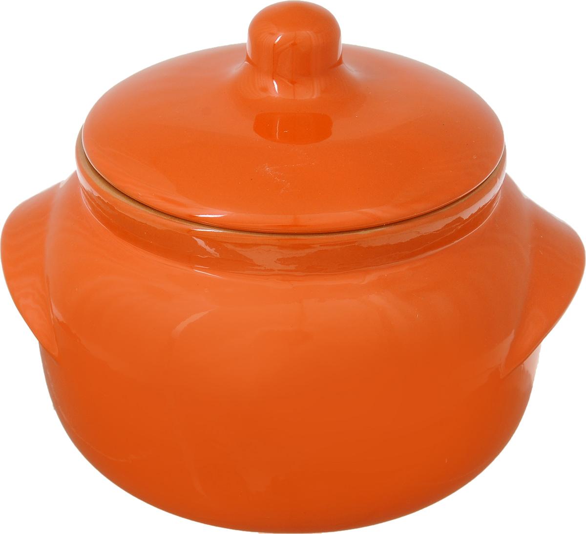 Горшочек для запекания Борисовская керамика Новарусса, цвет: оранжевый, 500 млFS-91909Горшочек для запекания Борисовская керамика Новарусса выполнен из высококачественной керамики. Внутренняя и внешняя поверхность покрыты глазурью. Керамика абсолютно безопасна, поэтому изделие придется по вкусу любителям здоровой и полезной пищи. Горшок для запекания с крышкой очень вместителен и имеет удобную форму. .Посуда жаропрочная. Можно использовать в духовке и микроволновой печи.Диаметр горшочка (по верхнему краю): 10 см. Высота (без учета крышки): 19 см.