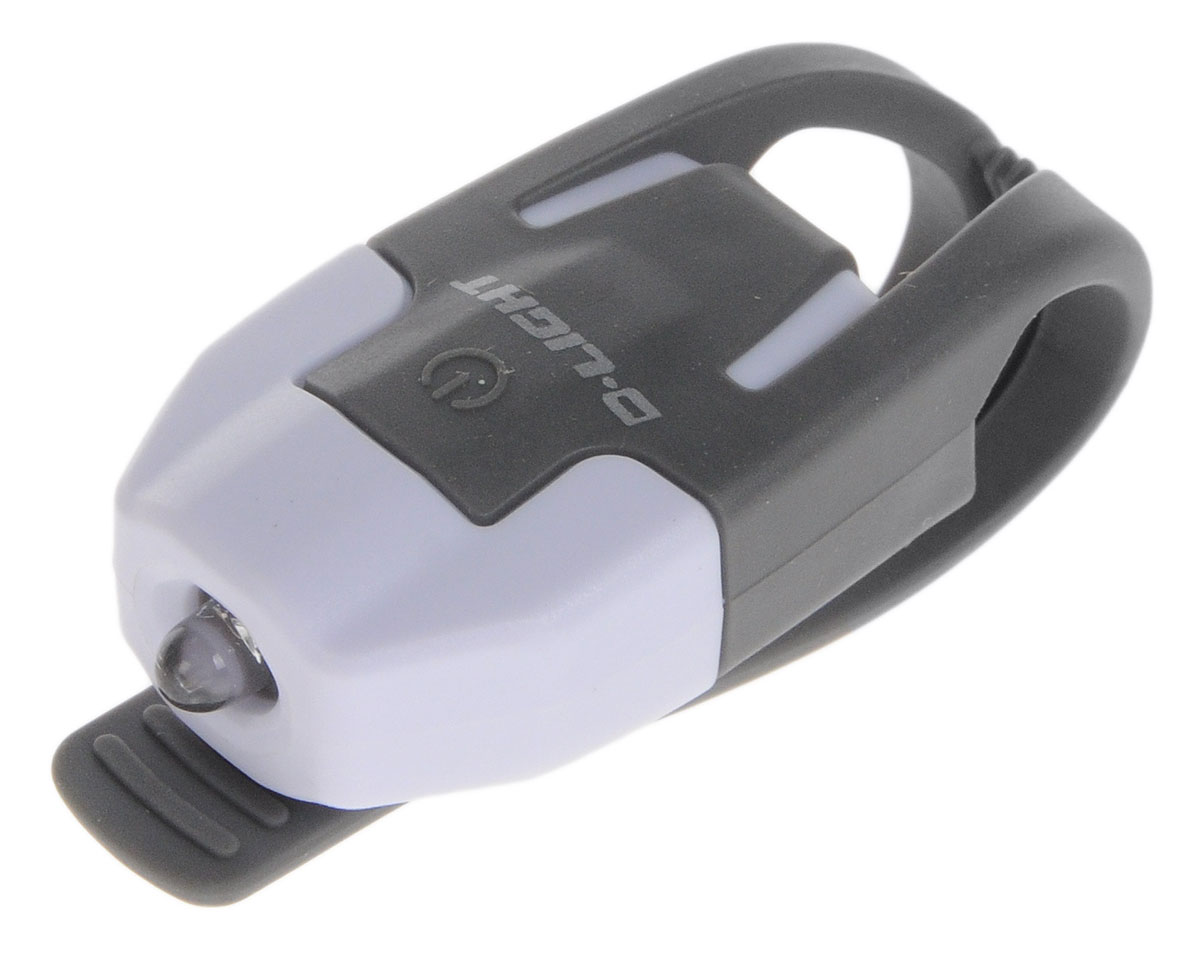 Фонарь велосипедный D-Light CG-210R, габаритный, задний, цвет: серый, белыйMW-1462-01-SR серебристыйЗадний габаритный велофонарь с рассеянным светом D-Light CG-210R предназначен для обеспечения большей безопасности при поездках в темное время суток. Он легко крепится и снимается без дополнительных инструментов на основу диаметром 18-32 мм. Корпус изделия выполнен из прочного пластика. Фонарь имеет 2 режима: мигание и постоянное свечение. Изделие водонепроницаемо.Фонарь питается от 1 батареи типа CR2032 (входит в комплект).Время свечения: 45 ч.Время мигания: 85 ч.Размер фонаря (без учета крепления): 4 х 2,5 х 1,3 см.
