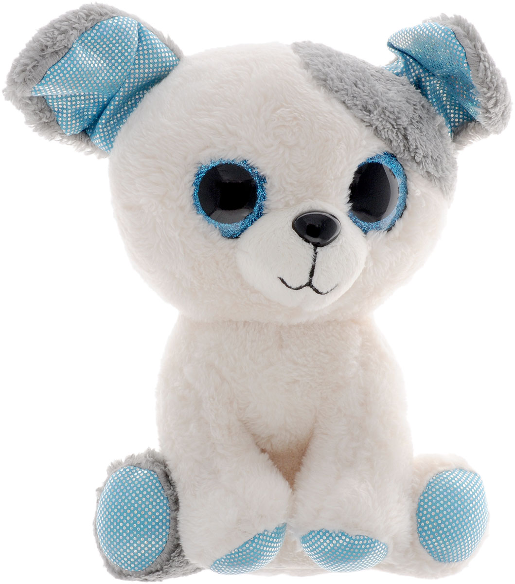 Fancy Мягкая игрушка Собачка Глазастик 22 см