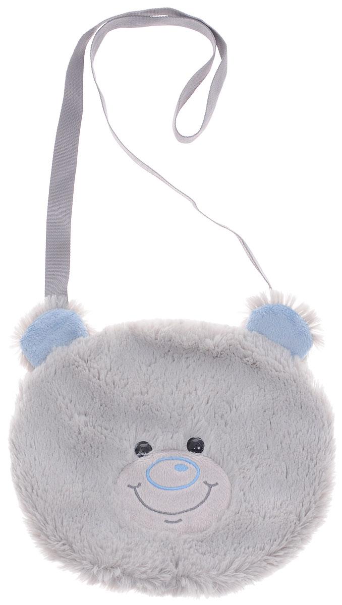 Fancy Сумка детская МишкаSUM0Детская сумка Fancy Мишка обязательно понравится каждой маленькой моднице. Сумочка выполнена в виде головы медвежонка и декорирована ушками и милой мордочкой с черными пластиковыми глазками. Сумка практичного светло-серого цвета изготовлена из мягкого ворсового трикотажа. Сумка имеет одно отделение, которое закрывается на пластиковую молнию с металлическим бегунком. Сумка имеет длинную лямку для ношения на плече. Порадуйте свою малышку таким замечательным подарком!