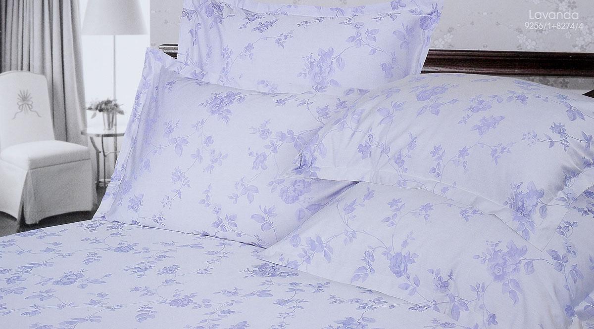 Комплект белья Verossa Lavanda, 2-спальный, наволочки 50х70, 70х70CLP446Комплект белья Verossa Lavanda выполнен из жаккарда с добавлением перкаля, ткани комбинированного переплетения. Тысячи нитей, переплетаясь друг с другом, образуют рельефный рисунок непосредственно в структуре ткани. Это королевская ткань для женщин, которые любят роскошь, предпочитают изысканные, но традиционные, высококачественные и натуральные материалы. Комплект состоит из пододеяльника на пуговицах, простыни и четырех наволочек с ушками по 3 см с трех сторон. Комплект имеет оригинальную упаковку и лаконичное строгое европейское оформление. Комплект белья Verossa Lavanda - традиционное белье высокого качества.