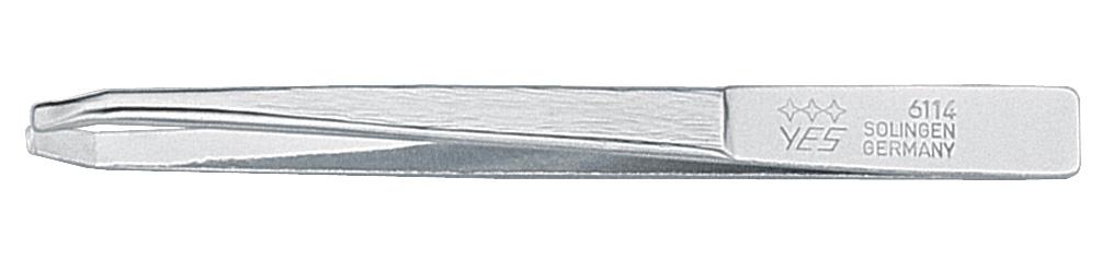 Becker-Manicure YES Пинцет Zetty 8см. 96114MT0013Пинцет изготовлен из высокоуглеродистой стали и предназначен для коррекции бровей, удаления волос и заноз.Длина пинцета 8 см.Хранить в сухом недоступном для детей месте. Замена изделия не осуществляется в следующих случаях:- Использование не по назначению- Самостоятельный ремонт- Нарушение условий хранения