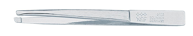 Becker-Manicure YES Пинцет скошенный 8см. 961031301210Пинцет скошенный изготовлен из высокоуглеродистой стали и предназначен для коррекции бровей, удаления волос и заноз.Длина пинцета 8 см.Хранить в сухом недоступном для детей месте. Замена изделия не осуществляется в следующих случаях:- Использование не по назначению- Самостоятельный ремонт- Нарушение условий хранения