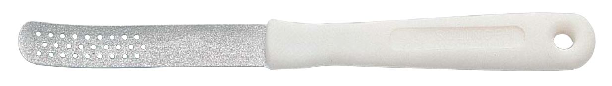 Becker-Manicure ERBE Пилка для ногтей ног. 20402040Пилка с крупным сапфировым напылением для шлифовки ороговевшей кожи стоп и ногтей ног. Длина пилки 18,5 смХранить в сухом недоступном для детей месте. Замена изделия не осуществляется в следующих случаях:- Использование не по назначению- Самостоятельный ремонт- Нарушение условий хранения