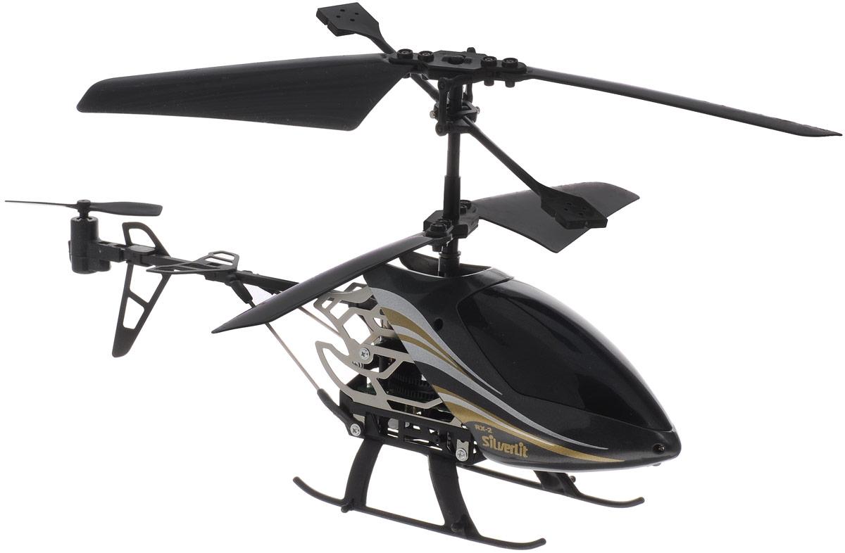 Silverlit Вертолет на инфракрасном управлении Sky Dragon цвет черный dragon волшебный дракон на инфракрасном управлении