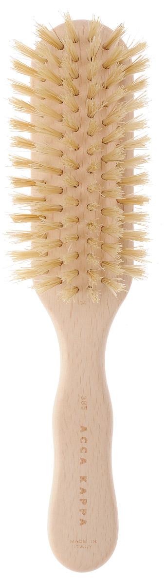 Щетка Acca Kappa для волос, квадратная, 20,5 см. 6238521146987Щетка Acca Kappa для волос из серии Proffesional придает дополнительный объем при укладке. Щетка выполнена из дерева и натуральной щетины (кабана).Большое количество щетины позволяет разделять волосы, не запутывая их. Характеристики:Материал: дерево, щетина. Длина: 20,5 см. Производитель: Италия. Артикул:62385. Товар сертифицирован.